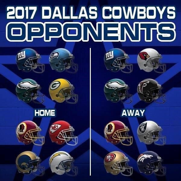 2017 opponents
